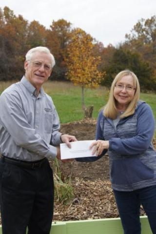 Donating funds for planting of trees through the Green Tree Partnership